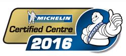 Michelin Certified Centre 2016